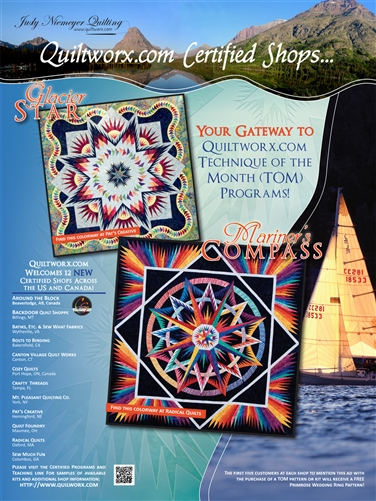 Certified Shop Ad in American Patchwork & Quilting