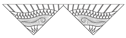 MSM Princess Tiara Large Feather