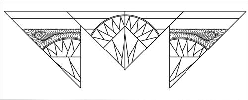MSM Desert Sun Wall Feather 2