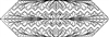 Landscapes Chevron Table Runner Quilting Pattern
