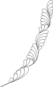 LH Ribbon Feather