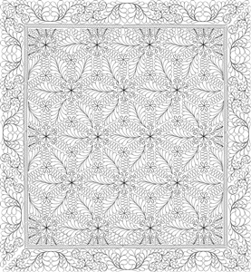 Starburst Quilting Pattern