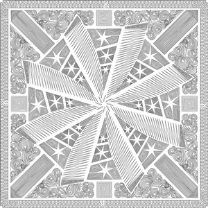Weathered Windmill Quilting Pattern