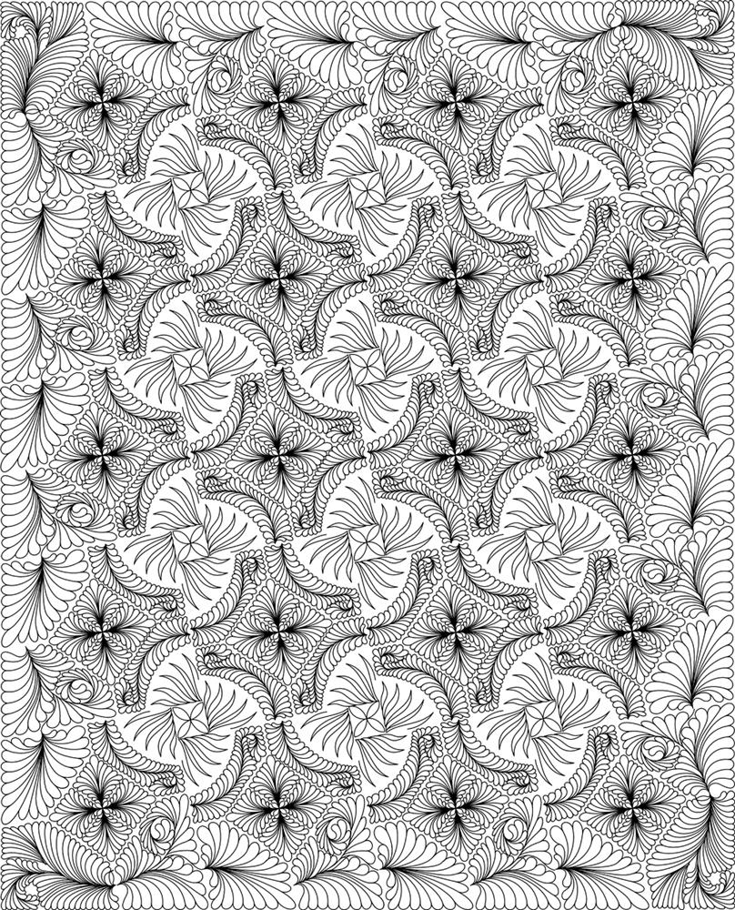 Mountain Bear Claw Quilting Pattern : bear claw quilt pattern - Adamdwight.com