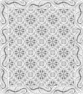 Indian Summer Quilting Pattern