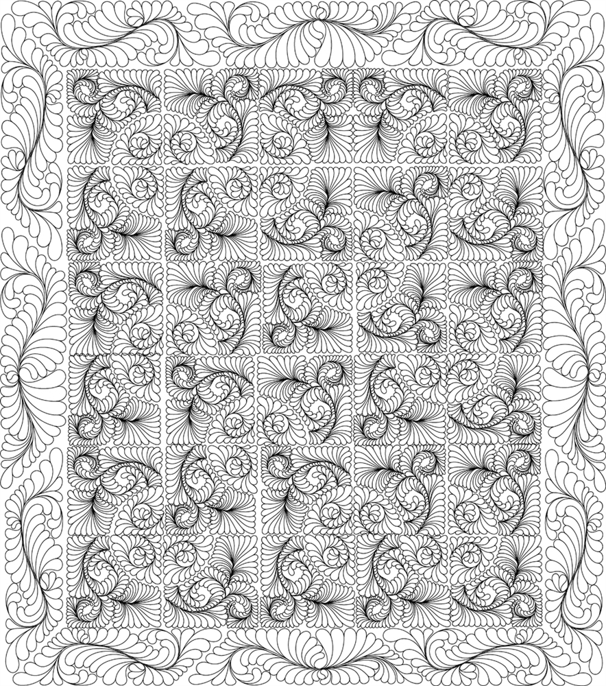 Illusions Quilting Pattern