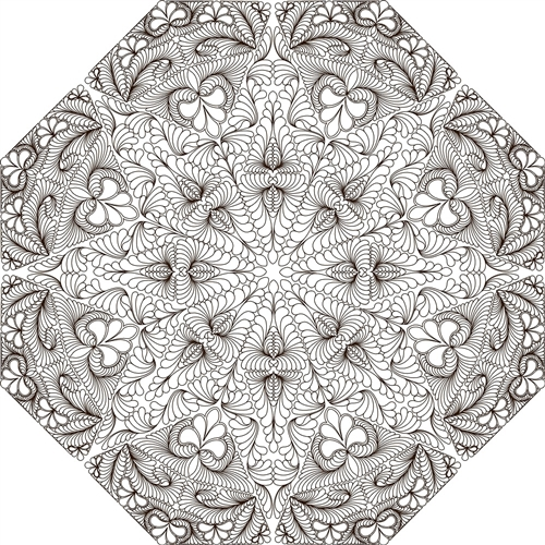 Celestial Snowfall Quilting Pattern