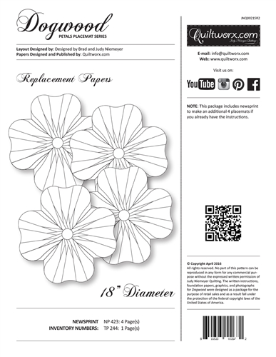 Dogwood Replacement Papers