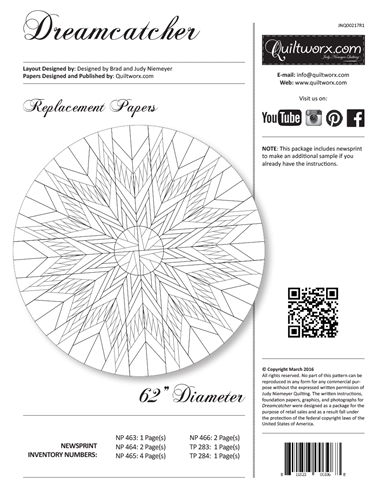 Dreamcatcher Replacement Papers