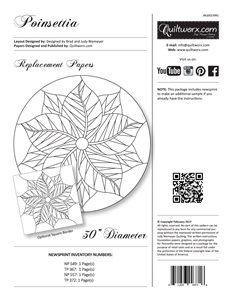 Poinsettia Replacement Papers
