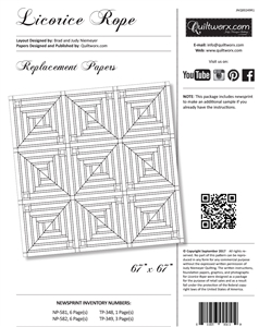 Licorice Rope Replacement Papers
