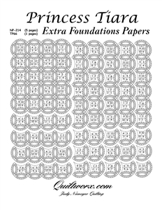 Princess Tiara Extra Foundation Papers
