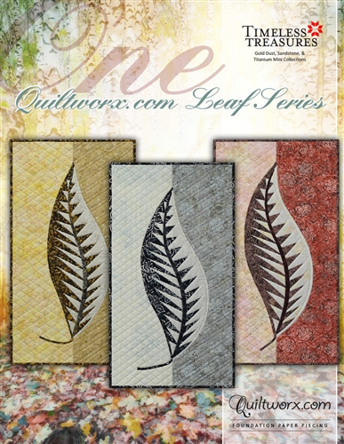 One: Quiltworx.com Leaf Series