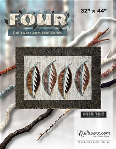 Four ~ Quiltworx.com Leaf Series