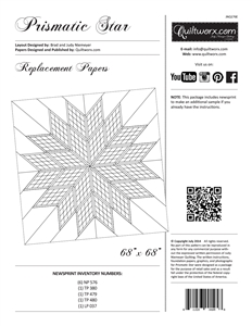Prismatic Star Replacement Papers