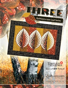 Three ~ Quiltworx.com Leaf Series
