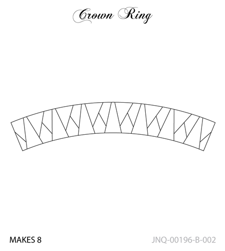 JNQ196B002 Crown Ring