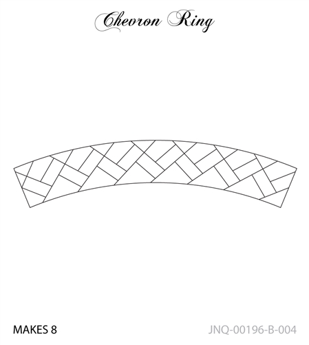 JNQ196B004 Chevron Ring