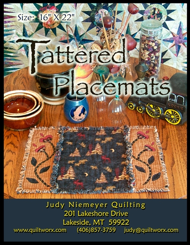 Tattered Placemats