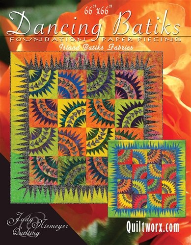 Dancing Batiks Basic Pattern