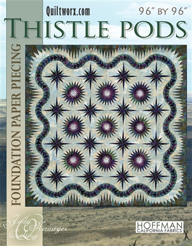 Thistle Pods Basic Pattern