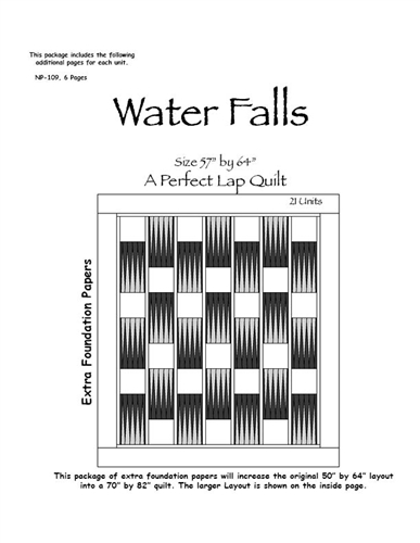 Waterfalls Extra Foundation Papers
