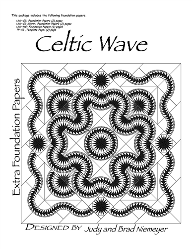 Celtic Wave Queen Size Extra Foundations