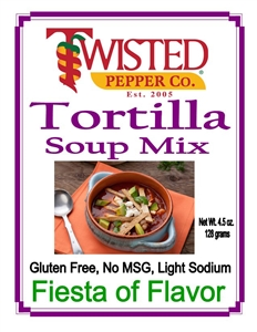 Tortilla Soup Mix by Twisted Pepper