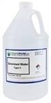 DI Water ACS Grade - 1 gallon