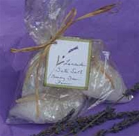 Lavender Bath Salt Sachets 3pack
