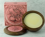 Trumper's Extract of Limes Hard Shaving Soap in Wooden Bowl 80g