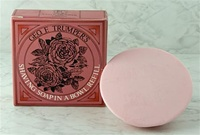 Rose Hard Shaving Soap Refill for Trumper's Wooden Bowl 80g