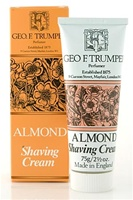 Trumper's Almond Soft Shaving Cream in Travel Size Tube 75g