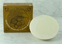 Coconut Oil Hard Shaving Soap Refill for Trumper's Wooden Bowl 80g