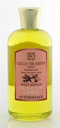 Trumper's Extract of Limes Aftershave in Plastic Travel Bottle 200ml