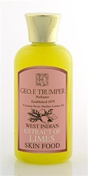 Trumper's Extract of Limes Skin Food in Plastic Travel Bottle 100ml