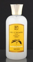 Trumper's Sandalwood Skin Food in Plastic Travel Bottle 100ml
