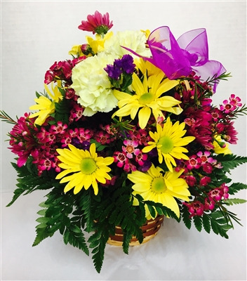 Mixed Floral Basket St Cloud Hospital Gift Gallery St. Cloud Hospital Gift Shop