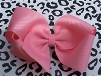 "4"" basic solid boutique bow"