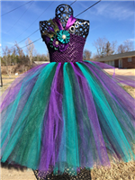 fancy peacock couture Tutu Dress