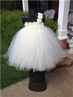 simply ivory couture tutu dress