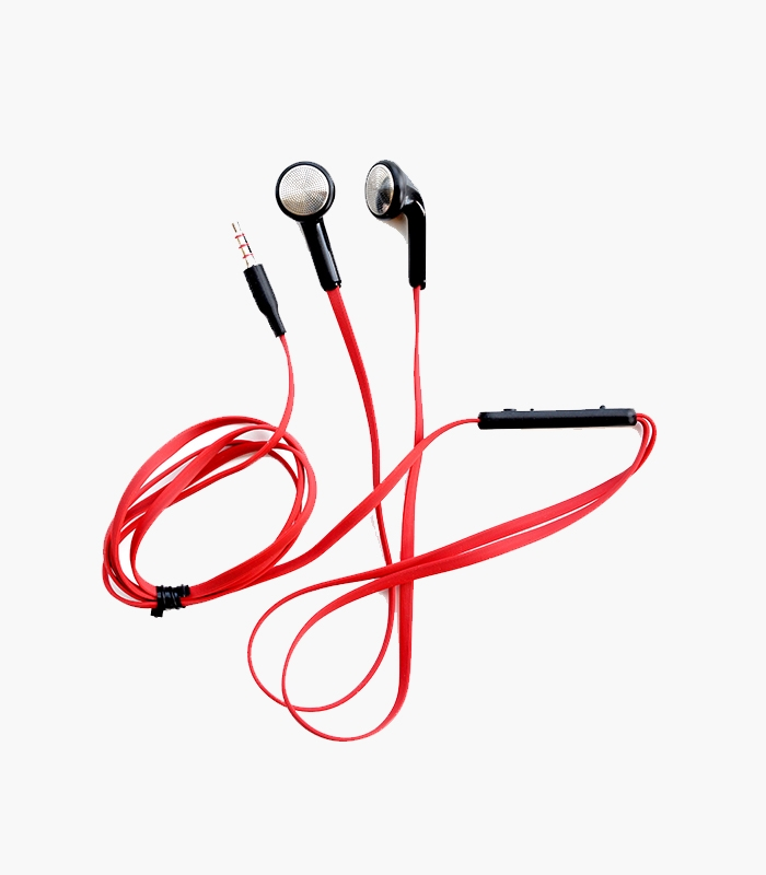 Red/Black Earbuds