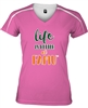 Pink Life is Better at FAMU Women's Performance T-shirt