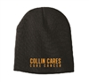 Collin Cares Cure Cancer Black Beanie