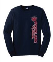 E. Woodland HS Vertical Long Sleeve T-Shirt