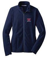P. Woodland HS Ladies Fleece Full Zip