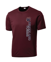 F. Woodland HS Moisture Wicking T-Shirt