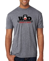 WOD About a Date Premium Heather T-Shirt