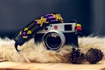 iMo Exotic Purple  Leather Strap for film camera/ Mirrorless camera
