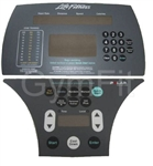 Life Fitness 91Xi  Overlay & Key Pad Set